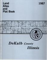 Title Page, DeKalb County 1987